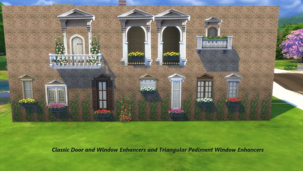 Mod The Sims: Window Enhancers by Snowhaze