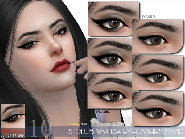 The Sims Resource: Eyelashes 201710 by S Club