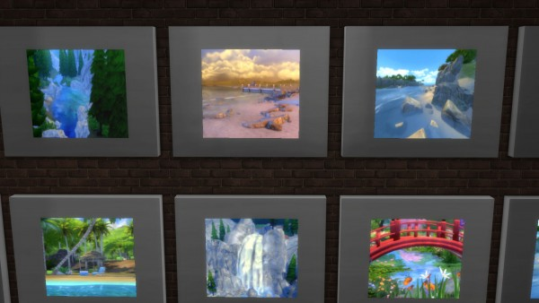 Mod The Sims: Illuminated Pictures: Cityscapes and Waterways by Snowhaze