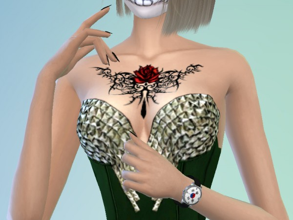 The Sims Resource: Tattoo 112 by Satas