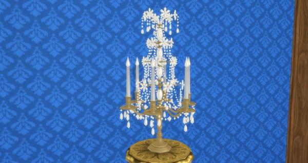 Mod The Sims: Baroque Girandole by TheJim07