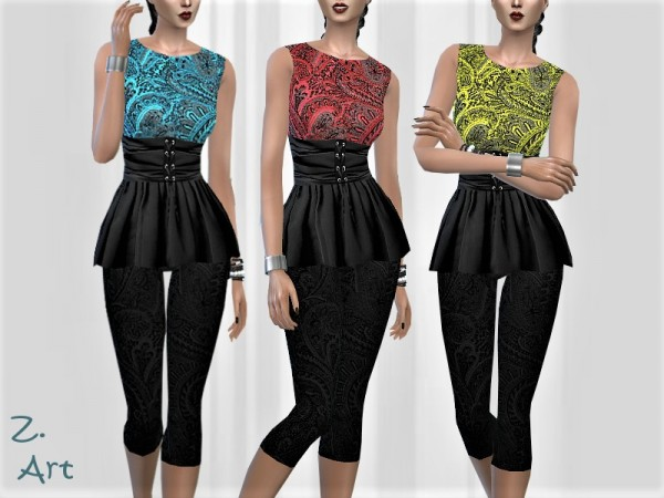 The Sims Resource: TrendZ. outfit 09 by Zuckerschnute20