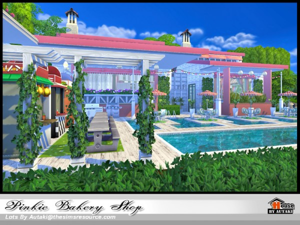 The Sims Resource: Pinkie Bakery Shop by Autaki