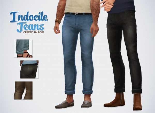 Simsontherope: Indocile Jeans