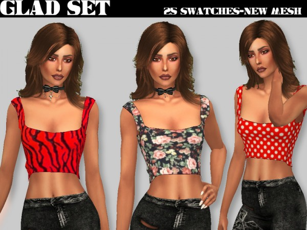 The Sims Resource: Glad set by Sharareh