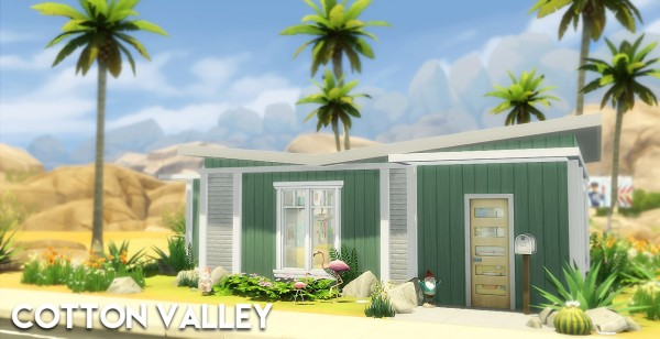 The Plumbob Architect: Cotton Valley House
