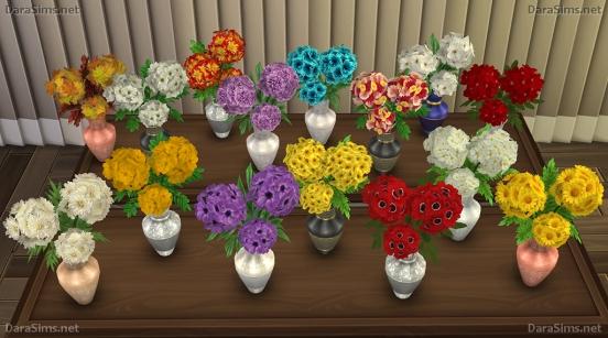 dara sims flower set 2 sims 4 downloads. Black Bedroom Furniture Sets. Home Design Ideas