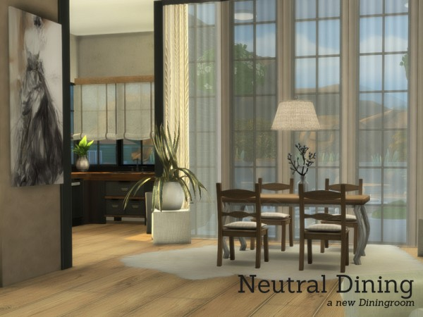 The Sims Resource: Neutral Dining by Angela