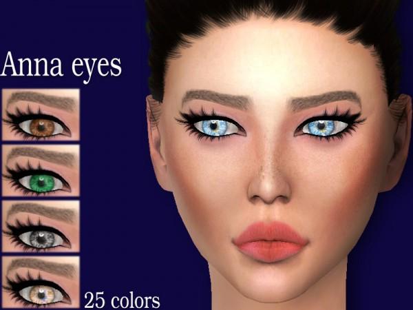 The Sims Resource: Sharareh: Anna eyes