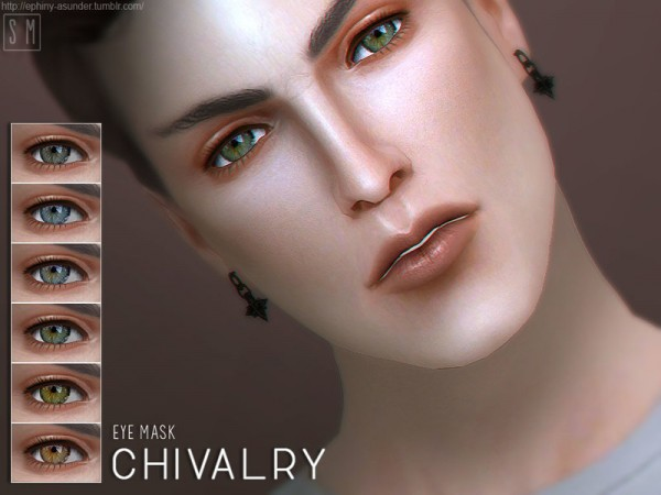 The Sims Resource: Chivalry    Eye Mask by Screaming Mustard