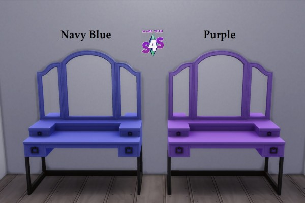 Mod The Sims: Vainglorious Vanity 20 Recolours by wendy35pearly
