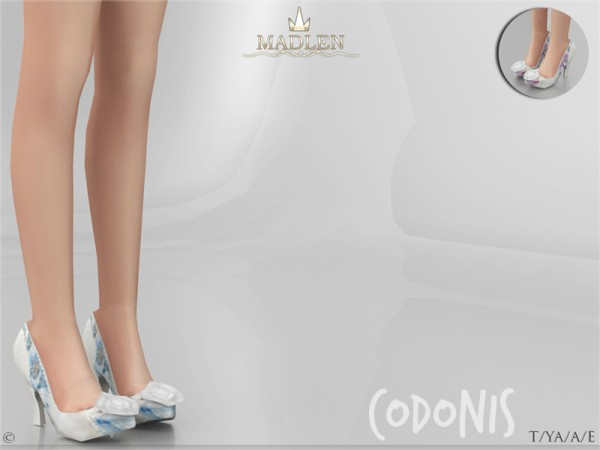 The Sims Resource: Madlen Codonis Shoes by MJ95