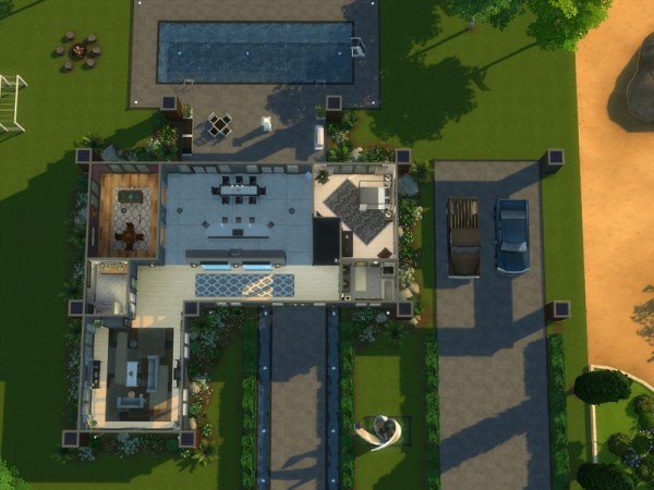 The Sims Resource: Contemporary Breeze by ArchitectTC