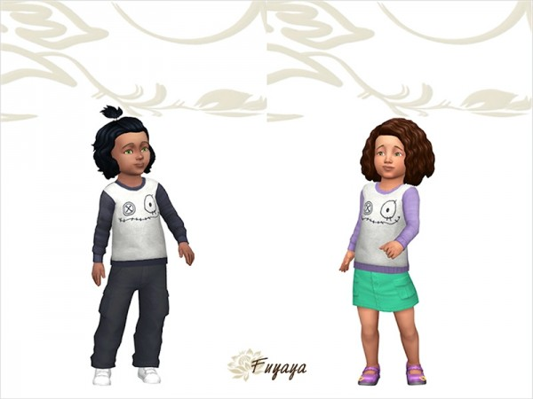 Sims Artists: Pull sweater Franstein