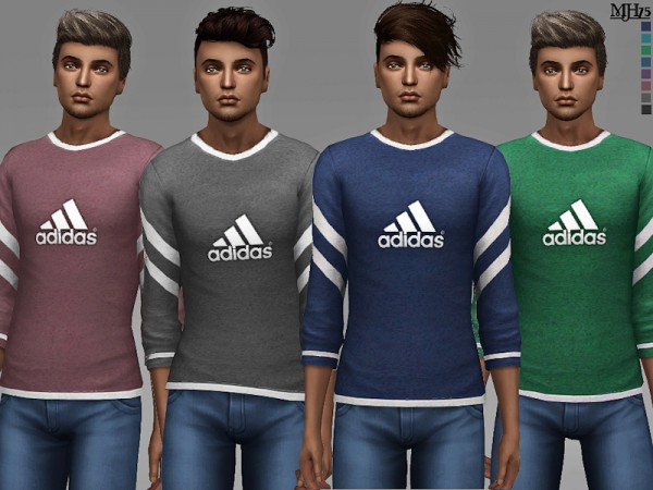 The Sims Resource: Mantra Tops by Margeh 75