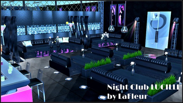 Lafleur 4 Sims Night Club Lucille Sims 4 Downloads