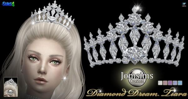 Jom Sims Creations: Diamond dream tiara