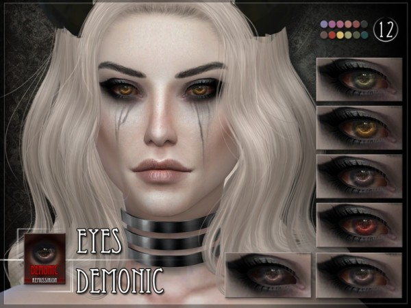 The Sims Resource: Demonic Eyes by Remus Sirion