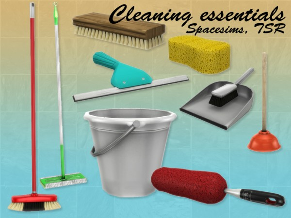 The Sims Resource: Cleaning essentials by spacesims