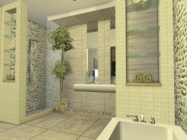 The Sims Resource: Modern Ophelia house by Suzz86