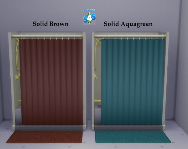 Mod The Sims: 22 XtremeShowerTub and Mat Set 2 by wendy35pearly