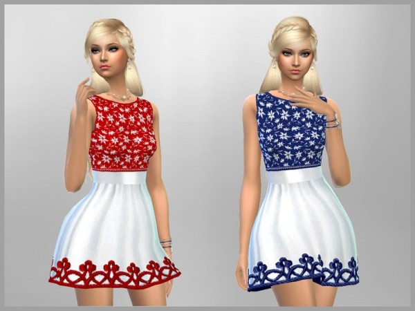 The Sims Resource: Jade Dress by SweetDreamsZzzzz