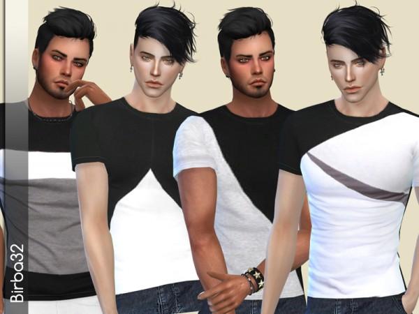 The Sims Resource: Geometric T Shirts by Birba 32