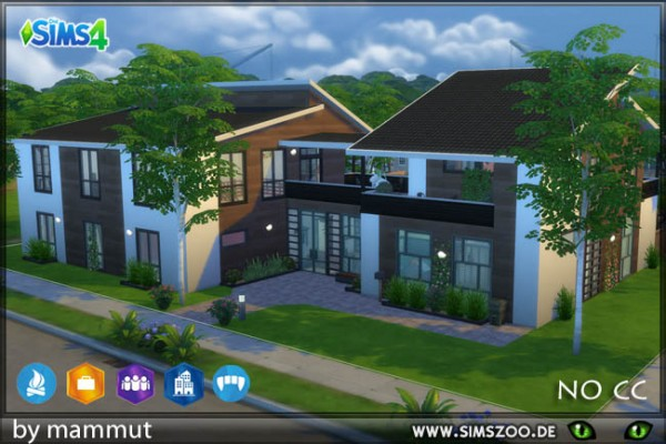 Blackys Sims 4 Zoo: Family residence by mammut