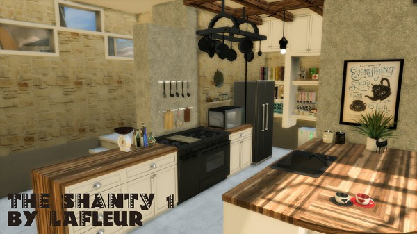 Lafleur 4 Sims: The Shanty house 1