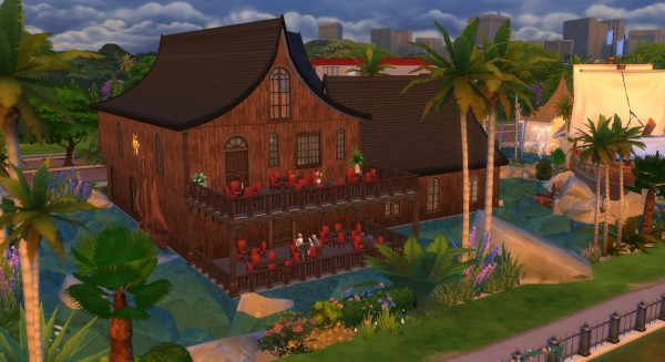 Mod The Sims: Tortuga Bay Restaurant   No CC by ArtyCutie