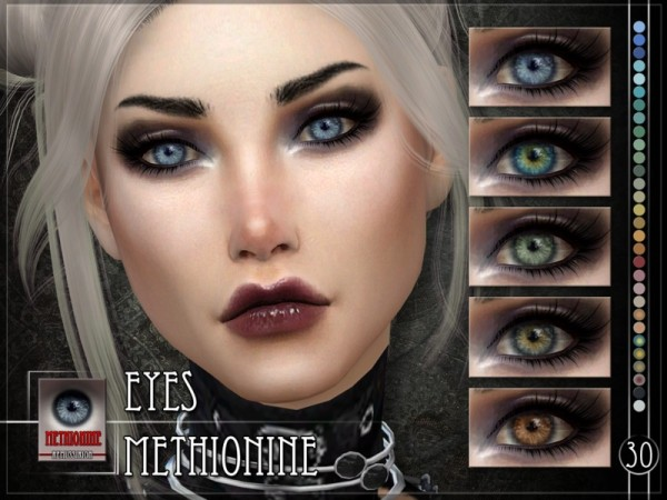 The Sims Resource: Methionine Eyes by RemusSirion