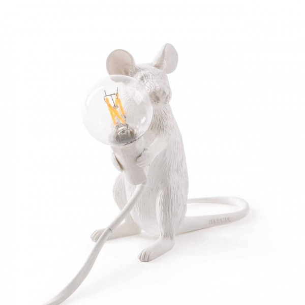 Meinkatz Creations: Mouse lamp by Seletti
