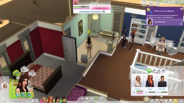 Mod The Sims: Same Pregnancy Mod by ArtUrlWWW