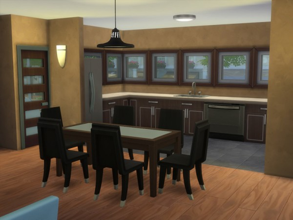 The Sims Resource: Modern Townhouse 1 by ArchitectTC