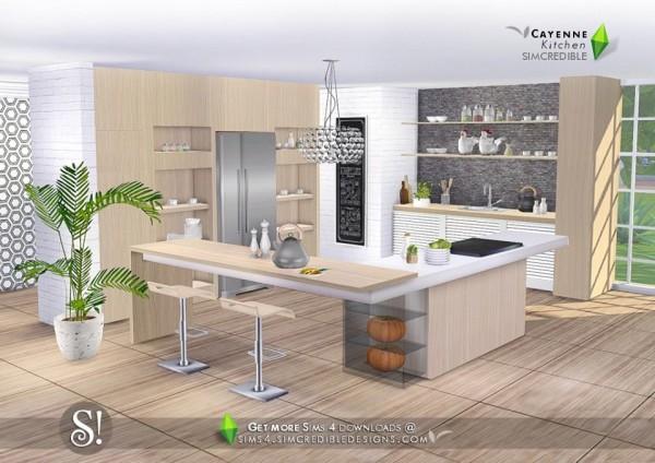 SIMcredible Designs: Cayenne kitchen