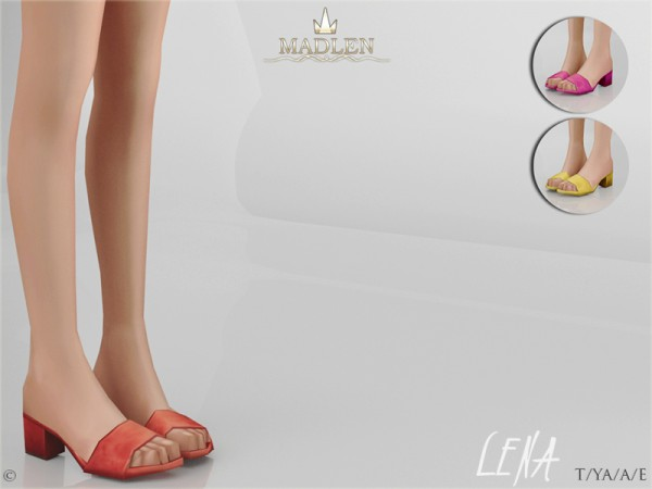 The Sims Resource: Madlen Lena Shoes by MJ95