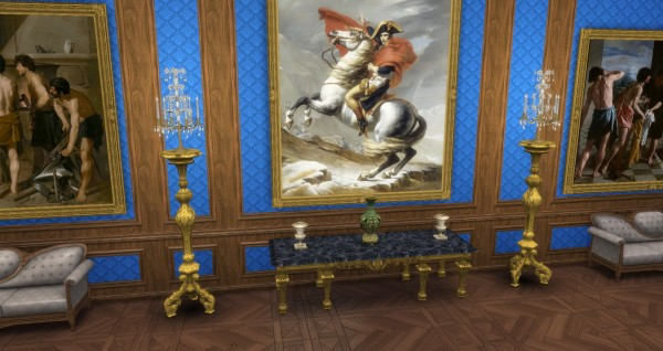 Mod The Sims Baroque Girandole By Thejim07 Sims 4 Downloads