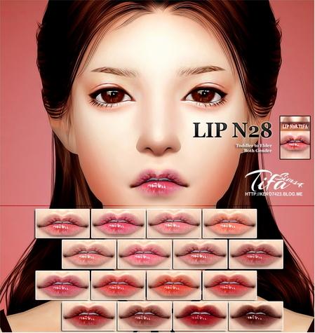 Tifa Sims: Lips N28