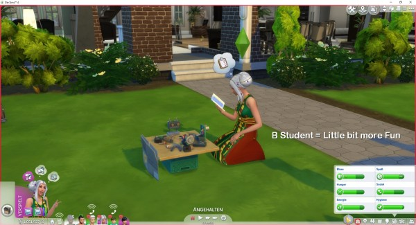 Mod The Sims: Schoolproject is Fun by LittleMsSam