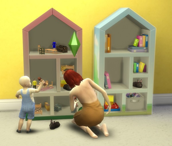 Simsworkshop Toddler Dollhouse Beta By Biguglyhag Sims