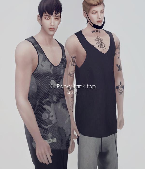 kk sims: Summer set for male