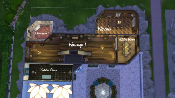 Mod The Sims: Stonehaven house by Nuttchi