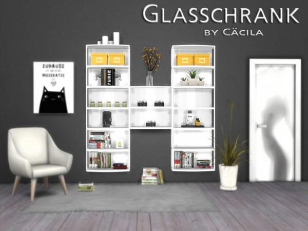 Akisima Sims Blog: Glass chrank