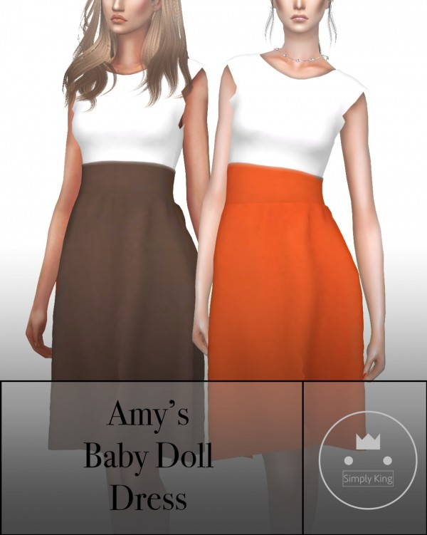 Simply King: Amy's Baby Doll Dress