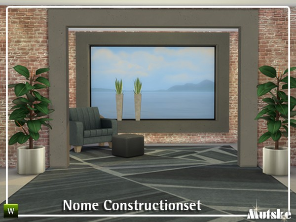 The Sims Resource: Nome Construction set by mutske