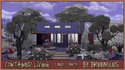 Bree`s Sims Stuff: Contained Living