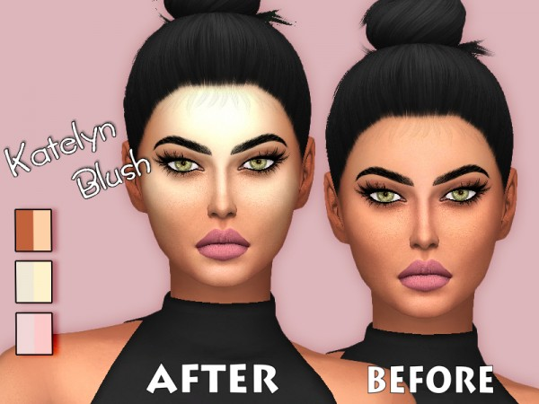 The Sims Resource: Katelyn blush by Sharareh