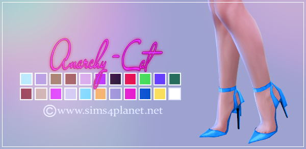 Anarchy Cat: Madlen`s Lana Shoes recolored