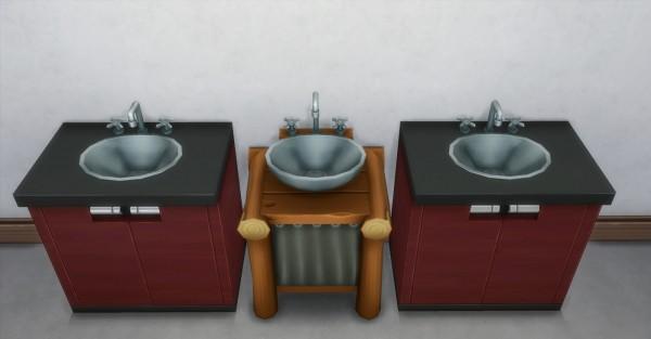 Mod The Sims: Daz Sinks by AdonisPluto