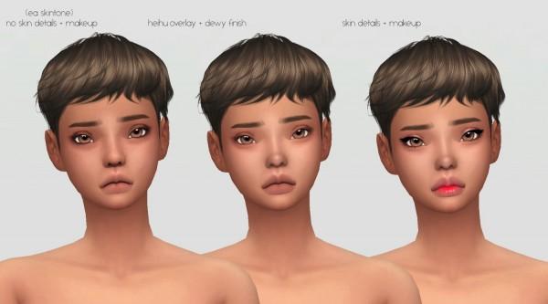 Simsworkshop: Hibiki skin by catsblob